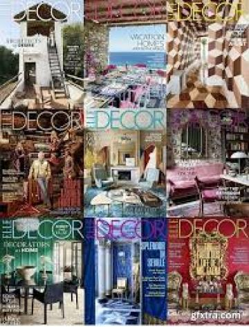 download Elle Decor USA - 2018 Full Year Issues Collection