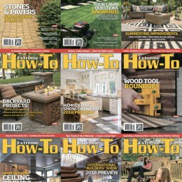 scientificmagazines Extreme-How-To-Full-Year-2018-Collection Extreme How-To - 2018 Full Year Collection Craft and Handmade Full Year Collection Magazines  Extreme How-To
