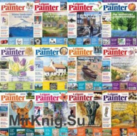Leisure-Painter-2018-Full-Year-Issues-Collection Leisure Painter - 2018 Full Year Issues Collection