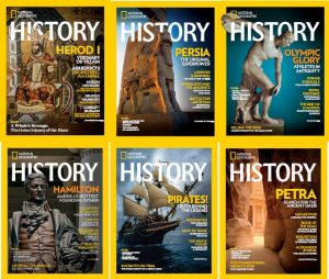 download National Geographic History – 2016 Full Year Issues Collection