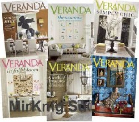 Veranda-Magazine-2018-Full-Year-Issues-Collection Veranda Magazine - 2018 Full Year Issues Collection