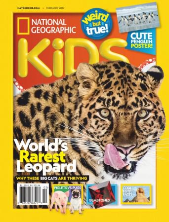National-Geographic-Kids-USA-February-2019 National Geographic Kids USA - February 2019