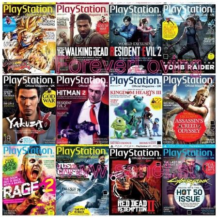 PlayStation-Official-Magazine-UK PlayStation Official Magazine UK - 2018 Full Year Collection