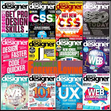 Web-Designer-UK-2018-Full-Year-Issues-Collection Web Designer UK - 2018 Full Year Collection
