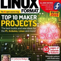 scientificmagazines Linux-Format-UK-January-2019-1 Linux Format UK - January 2019 Computer  Linux Format UK