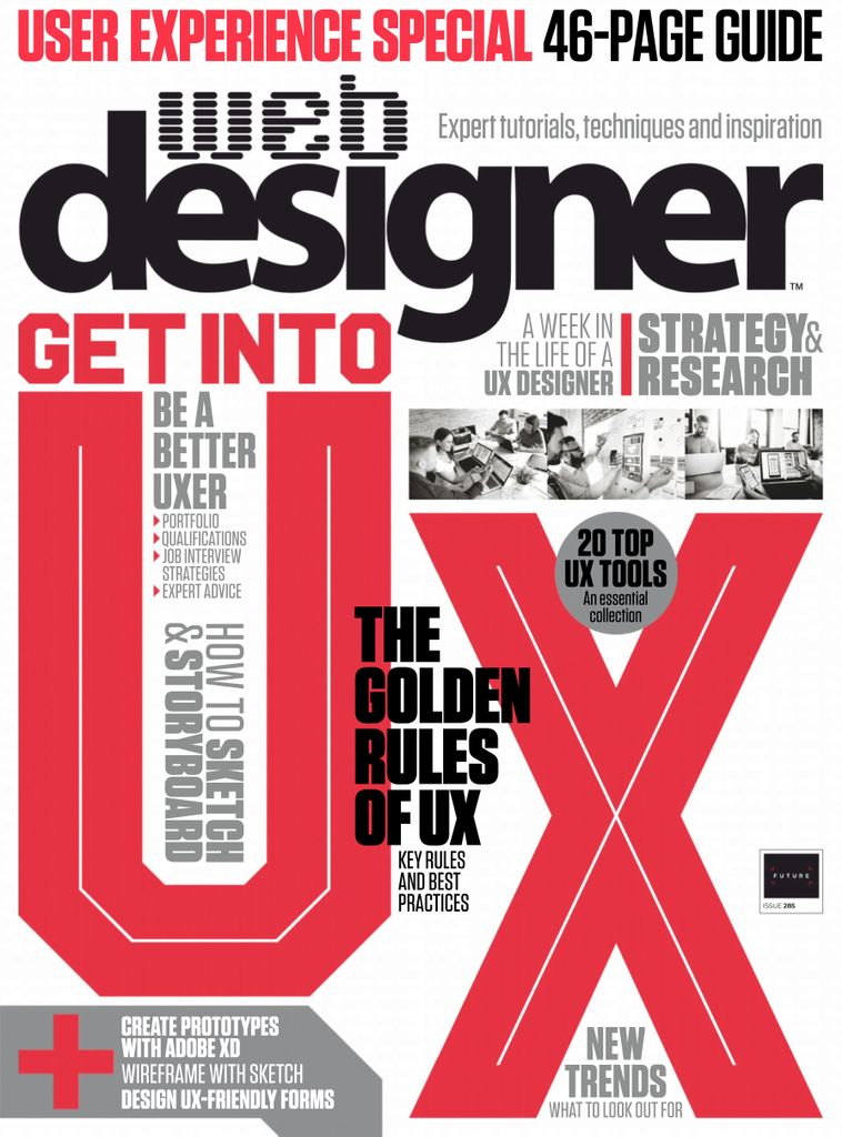 Web-Designer-UK-April-2019 Web Designer UK - April 2019