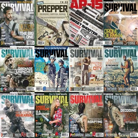 American-Survival-Guide-Full-Year-2019-Collection American Survival Guide -  2019 Full Year Collection