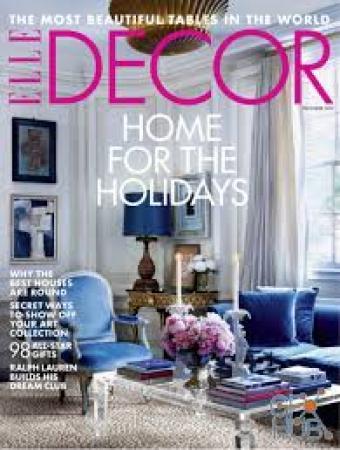 Elle-Decor-USA-December-2019 Elle Decor USA - December 2019