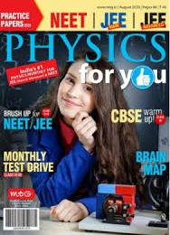 scientificmagazines Physics-For-You-August-2020 Physics For You - August 2020 Physics Science related  Physics For You