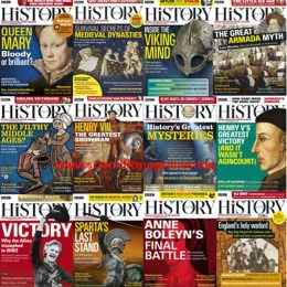 scientificmagazines BBC-History-Magazine-–-2020-Full-Year-Collection BBC History Magazine – 2020 Full Year Collection Full Year Collection Magazines History  BBC History Magazine UK