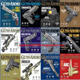 scientificmagazines Guns-and-Ammo-–-2020-Full-Year-Collection Guns & Ammo – 2020 Full Year Collection Full Year Collection Magazines Military and Army  Guns & Ammo