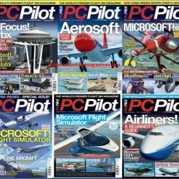 scientificmagazines PC-Pilot-–-Full-Year-2020-Collection PC Pilot – Full Year 2020 Collection Aviation Full Year Collection Magazines Military and Army  PC Pilot
