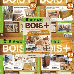 scientificmagazines Bois-annee-complete-2020 Bois+ - année complète 2020 Craft and Handmade Frensh magazines Full Year Collection Magazines Hobbies & Leisure time  Bois+