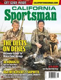 scientificmagazines California-Sportsman-November-2020 California Sportsman - November 2020 Fishing and Hunting  California Sportsman