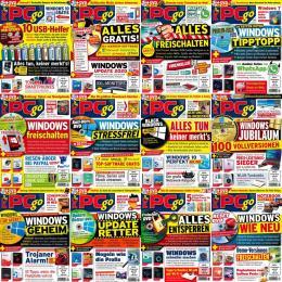 scientificmagazines PCgo PCgo - 2020 Jahrgang Computer Deutsch Magazines Full Year Collection Magazines  PCgo