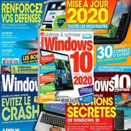 scientificmagazines Windows-10-Pratique-annee-complete-2020 Windows 10 Pratique - année complète 2020 Computer Frensh magazines Full Year Collection Magazines  Windows 10 Pratique