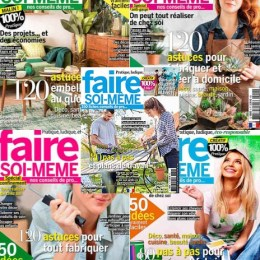 scientificmagazines Faire-soi-meme-annee-complete Faire soi-même - année complète 2020 Frensh magazines Full Year Collection Magazines Hobbies & Leisure time Knitting and Sewing  Faire soi-même