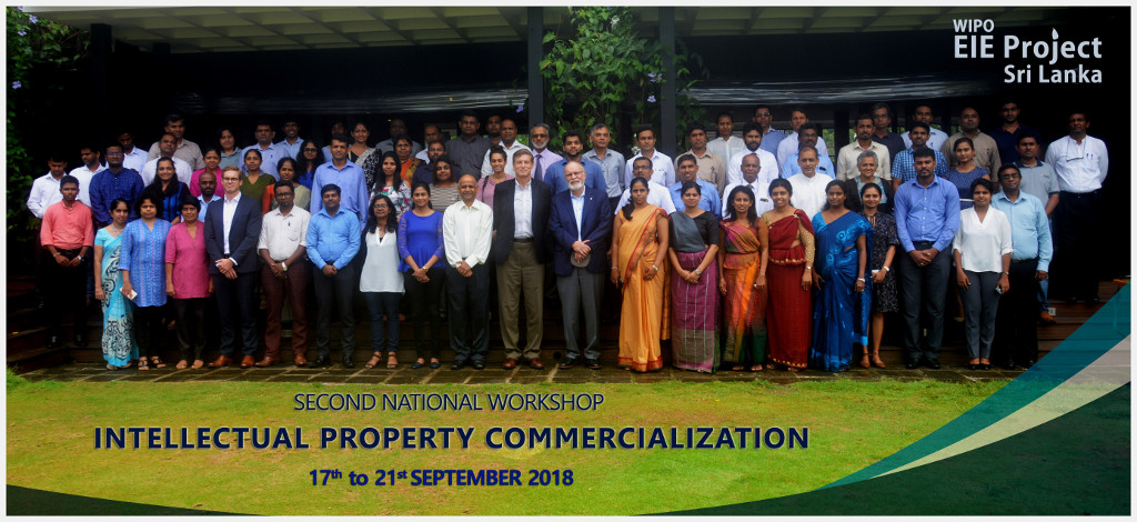 Second National Workshop on Intellectual Property (IP) Commercialization in the Framework of the Enabling IP Environment (EIE) Project, Sri Lanka