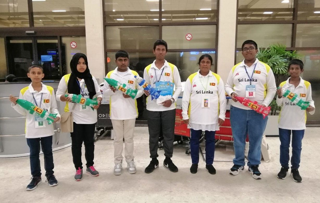 Sri Lankan Rocket Wins the First Place at Japan Water Rocket Competition
