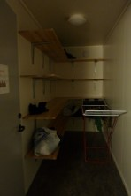 The drying/store room.