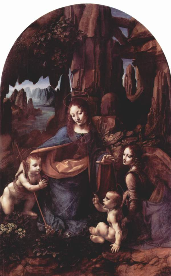 Leonardo Da Vinci Madonna