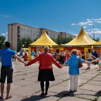 Открытие центра помощи в Тольятти