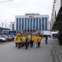 Пермь встречает волонтеров Транссибирского тура Доброй воли