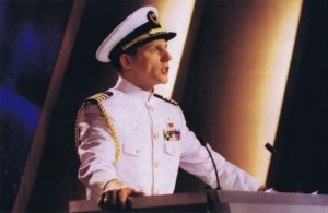 Captain David Miscavige, the tyrannical dictator who runs the Church of Scientology.