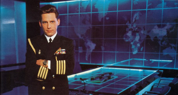 Captain David Miscavige in his Scientology War Room