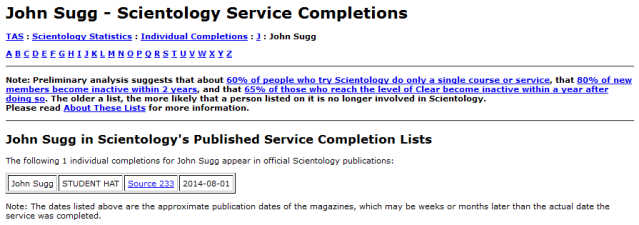JohnSuggScientologyServiceCompletions