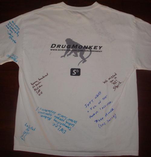 Autographed Shirt: Back