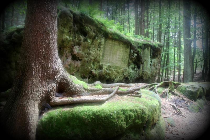 Na kamieniach w Szwajcarii Saksońskiej… – Luchsstein, Altarstein