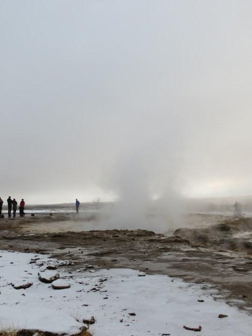 Strokkur, czyli najaktywniejszy na Islandii gejzer.