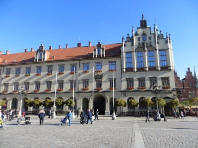 Sukiennice na wrocławskim Rynku.