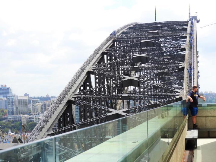 Australia Sydney Harbour Bridge Ścieżki Mojego świata