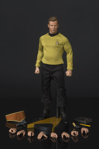Kirk action figure from Qmx July 2016