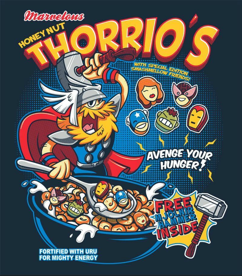 Honey Nut Thorrio's