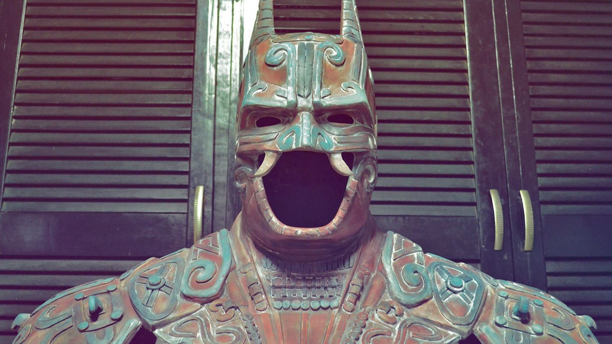 Ancient Aztec Batman #IRL