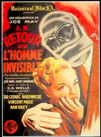 Le Retour De L'homme Invisible : retour, l'homme, invisible, Retour, L'homme, Invisible, (1940), SciFi-Movies