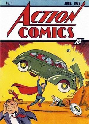 Action Comics Number 1 sold recently at auction for $2.16M dollars.