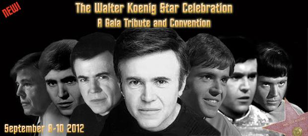 Poster for the Walter Koenig Star Celebration