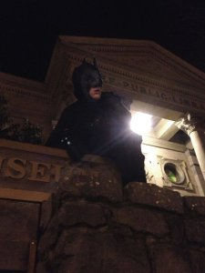 The Petaluma Batman - his real life identity is a closely guarded secret, known only to a trusted few.