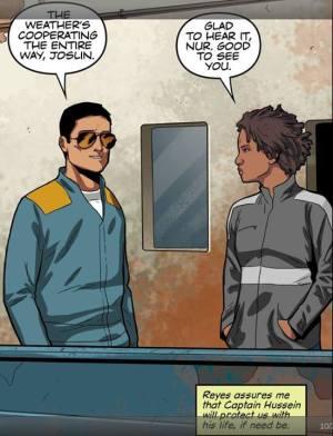Captain Nur Hussein in 'Tomb Raider' #4