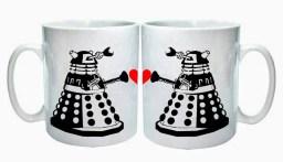 dalek love mug