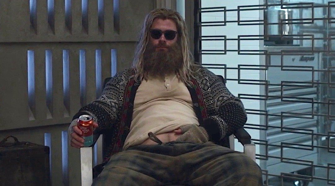 'Avengers: Endgame' – How Did Thor End Up with a Beer Gut? Isn't He Supposed to be a God?