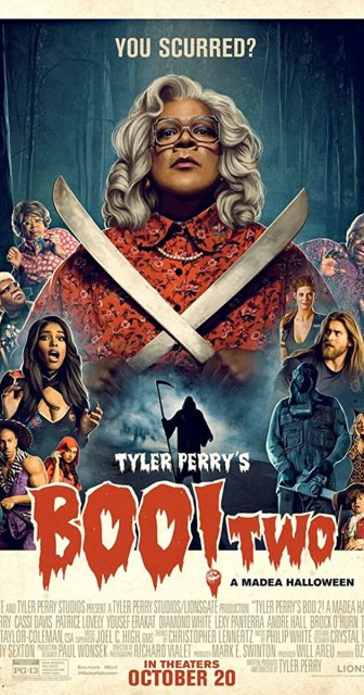 tyler perry boo 2 poster