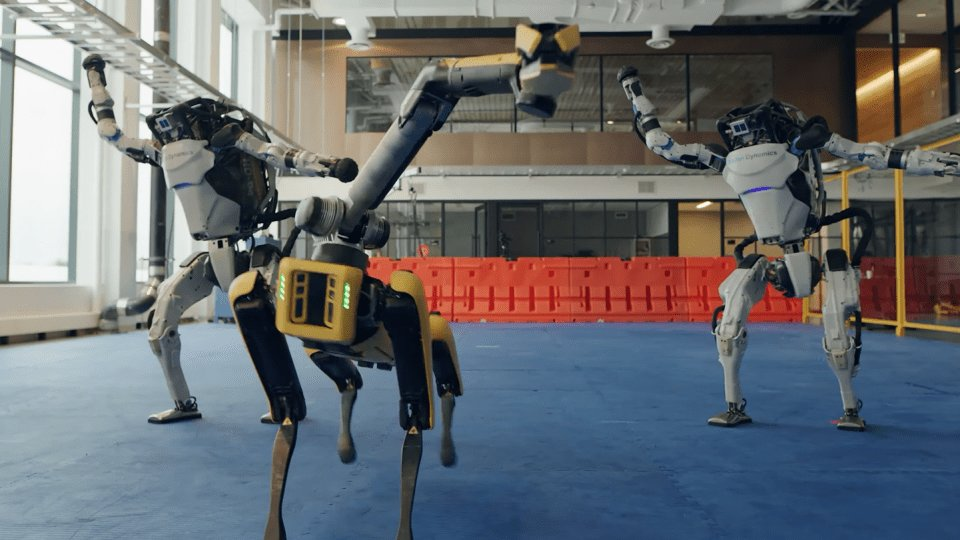 Boston Dynamics Robots Are Dancing Now, and Yes, It's Both Cool and Terrifying