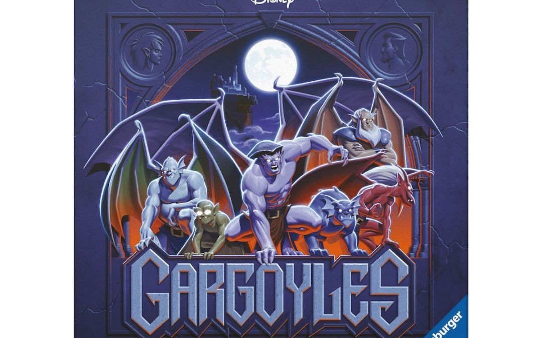 Disney Releases 'Disney Gargoyles: Awakening' Tabletop Game