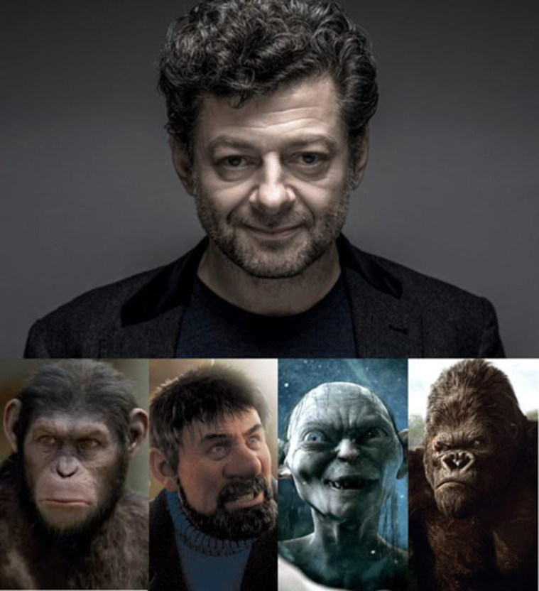 The Many Roles of Andy Serkis
