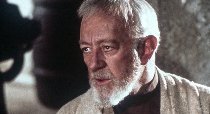 Sir Alec Guiness as Obi-wan Kenobi